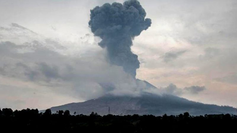 Volcano, Japan, Activation, Eruption, Video, First Time