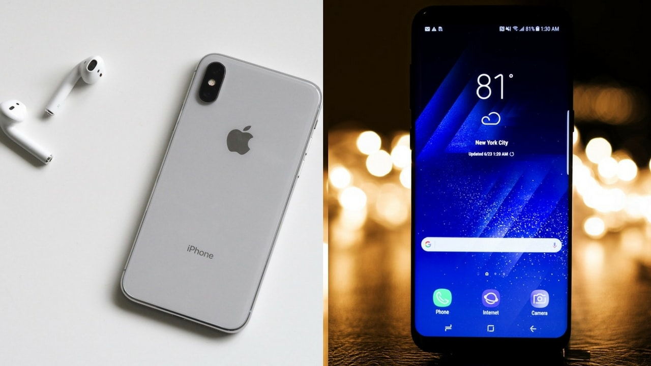 iPhone X vs Samsung Galaxy S9