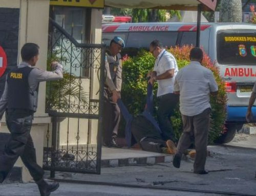 4 Attackers with Samurai Swords Attacked a Police Station in Indonesia