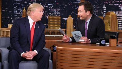 """10 celebrities that insulted Jimmy Fallon on his """"Tonight Show""""."""