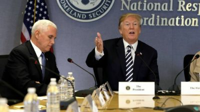 Weird moment where Mike Pence is imitating Donald Trump