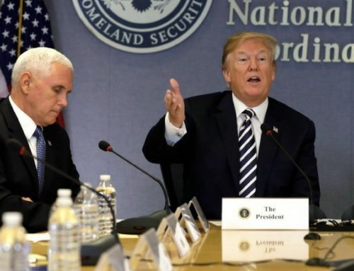Really Weird Moment: Mike Pence is Imitating the President Donald Trump