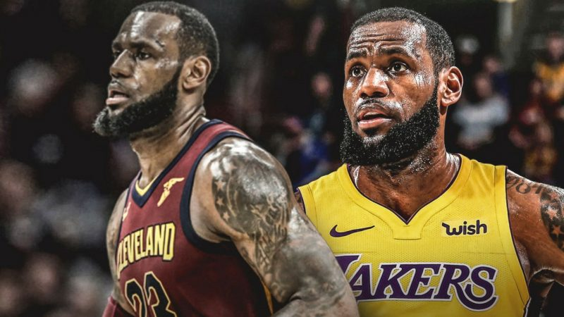 LeBron James left his hometown Cleveland Cavaliers and signed a deal with the Los Angeles Lakers.