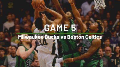 Boston Celtics Milwaukee Bucks NBA Game